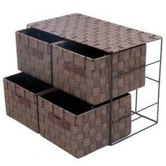 cajonera cestas de mimbre chocolate mimbre en nurybacom cestas muebles