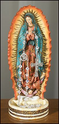 Our Lady of Guadalupe Rosary Holder – Beattitudes Religious Gifts