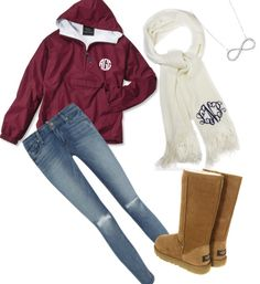Ask Bev to monogram a scarf Southern Outfits, Preppy Outfits, Cute Outfits, Little Mix Style, My Style, Future Clothes, Fashion Line, Picture Link, Fall Winter Outfits