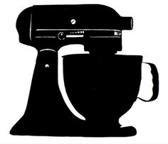 Free Cut File! Kitchen Aid Mixer