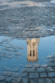 How Flemish can an image be? Beautiful rainy Bruges ...