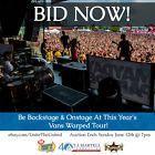 #Ticket  VANS WARPED TOUR Camden NJ 7/8 VIP 2 Tickets Onstage Backstage Charity #deals_us