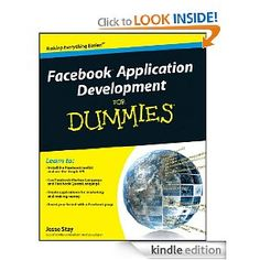 Facebook Application Development For Dummies, by Jesse Stay