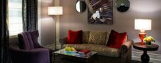 Sir Francis Drake Hotel: Unlike other hip Kimpton properties, the look at this 416-room spot is all about its history. .....San Francisco
