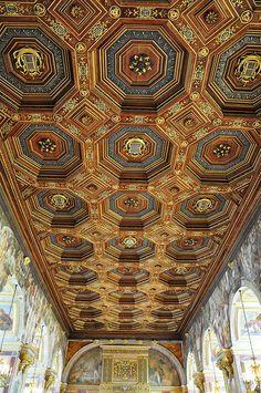 plafond de la galerie François Ier