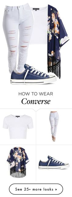 Untitled #339 by taylorywomack on Polyvore featuring Topshop and Converse...