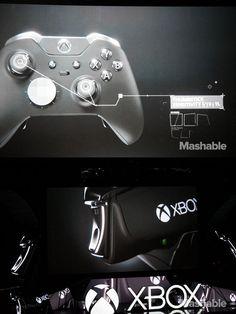 Microsoft's new Xbox One Elite controller