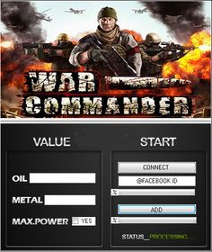 Download War Commander Hack Tool Cheats Engine No Survey