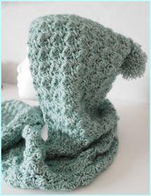 Här kommer mönstret på den virkade Scoodie En kombination av huva och halsduk med fickor. Nu finns detta underbara garn Stone Washed XL i... Sewing Patterns, Crochet Patterns, Crochet Ideas, Stick O, Hooded Scarf, Textiles, Crochet Shawl, Diy Projects To Try, Shawls And Wraps