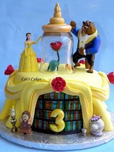 Jilly's Beauty and the Beast Birthday Cake