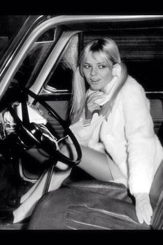 Famous 60's French singer France Gall