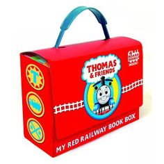 Thomas and Friends My Red Railway Book Box - Walmart.com
