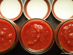 Homemade Ketchup-This is definitely ten steps up from most bottled ketchups, which tend to be laden with sugar and corn syrup.    This ketchup is fragrant with ground clove and ginger, and gets the tiniest bit of sweetness from a few spoonfuls of brown sugar. Half a fresh jalapeno adds just a little heat.