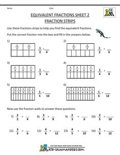 math worksheet : fractions worksheets equivalent fractions and fractions on pinterest : Estimating Fractions Worksheets