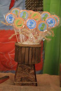 Biscuit e outras coisinhas: FESTA DO DINOSSAURO: PARTE II