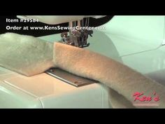 How to use the Janome Coverpro 900 Partial Transparent Foot