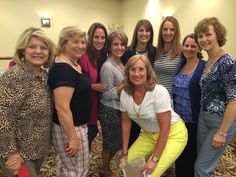 """Our Hintze/Jacobs upline leaders"""" Rebecca Kaselow, Sue Webb. Amy Evich, Jodie Howard, Kelly Cleeland, Becky Hintze, Laura Jacobs, Me, Bernadette O Donnell.  At ASPIRE convention2014"""