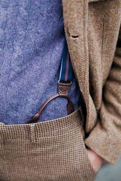 Suspenders...