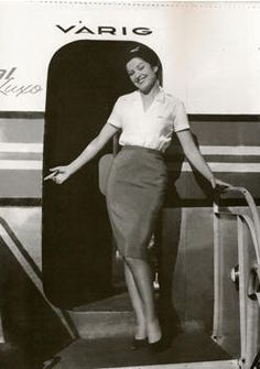 VARIG (Brazil)  air hostess ::: | VARIG | :::
