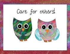 Free Owl Encouragement Posters