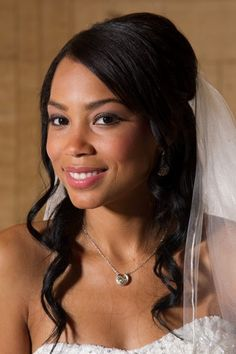 African American Wedding Hairstyles, Wedding Hair & Beauty Photos by Total Image Hair & Airbrush Makeup - Image 19 of 23 - WeddingWire