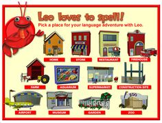 Free Technology for Teachers: Language Adventures with Leo the Lobster and Friends