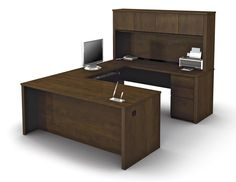 Bormann U-Shape Executive Desk with Hutch