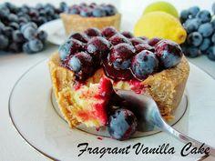 Raw Lemon Concord Grape Tartlettes from Fragrant Vanilla Cake