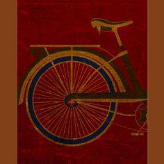 Sweet Old School Bike