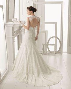 Aire Barcelona wedding dress 2014 Bridal Otonal