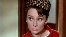 Hepburn in a scene from the comic thriller Charade (1963)