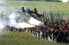 Reconstitution de la bataille de Montmirail napoélienne le 31 mai 2015 dans le nord-est de la France. Reenactment of the Battle of Montmirail napoélienne May 31, 2015 in the northeast of France (Francois Nascimbeni Photo / afp.com)
