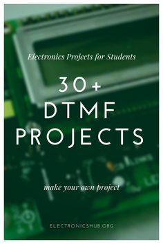 DTMF Projects for Engineering Students Simple Electronics, Electronics Gadgets, Electronics Projects, Computer Projects, Arduino Projects, Diy Projects, Mechanical Engineering Design, Electronic Engineering, Electrical Engineering