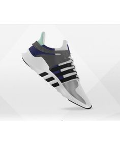 241fc8a2e Adidas Womens Mi Eqt Support Adv White Grey Black Ink Traniers Sale Uk