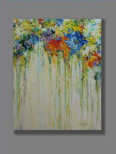 Acrylic Abstract Painting Original Acrylic por MGOriginalArt