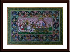 Buy amazing tribal paintings on cloth and Silk online at affordable prices