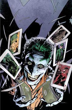 "travisellisor: ""the cover to the Batman: Joker's Asylum Volume 2 collection by Ryan Sook "" Joker Batman, Joker Y Harley Quinn, Batman Stuff, Comic Book Artists, Comic Books Art, Comic Art, Heath Ledger, Der Joker, Graphic Novels"