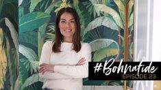 #BOHNAFIDE // EP. 23: HOME TOUR - LIVING, DINING, POWDER ROOM REVEAL!!! Interior Design Videos, Burning Questions, Business Video, Passion Project, Laundry In Bathroom, Design Firms, Powder Room, House Tours, Storytelling
