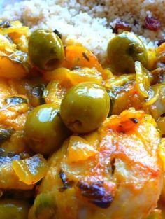 recette Tajine de poulet aux citrons