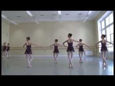 Vaganova Ballet Academy. Classical dance. Girls, 3rd class. 2014.
