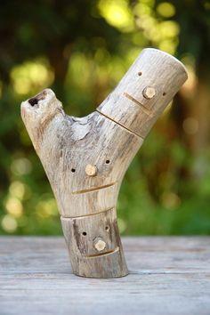 合体!ロボ頭組み木(三個組) 001 Driftwood Art, Wood Crafts, Diy Ideas, Outdoor Decor, Home Decor, Craft Ideas, Woodworking Crafts, Interior Design, Woodworking Projects