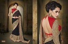 Fancy Designer saree with elegant border  whatsapp / call / viber 919884034418  An exclusive collection of Fancy Designer saree with elegant border from the house of Gautam Marketing. These sarees are a must have wardrobe collection and can be used for all occasions. These designs are exclusively crafted to bring the inner beauty of the women who adores our collection. --> For more updates follow us on ==>> Facebook - http://ift.tt/1THaNbJ ==>> Twitter - @gmsarees ==>> Googleplus…
