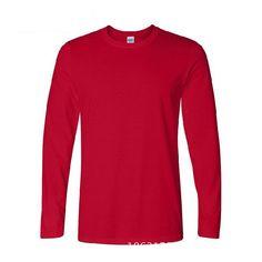 Buy Online Free Shipping - Full Sleeve O'Neck Collar Solid Pattern Casual T-Shirt For Men. #Mentshirt #ShopOnline #MehdiGinger