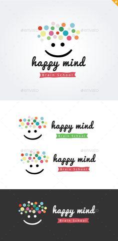 Happy Mind Brain School, Kids logo