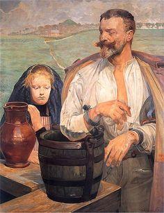 Jacek Malczewski - Zatruta studnia III, 1905