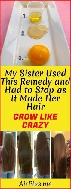 My Sister Used This Remedy And Had To Stop as it Made Her Hair Grow Like Crazy! – Airplus