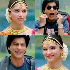 Shah Rukh Khan Movies, Shahrukh Khan, Deepika Padukone Saree, Chennai Express, Krishna Love, Bollywood Celebrities, My Idol, My Hero, Captain Hat