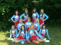 #cheerleading #group picture #squad