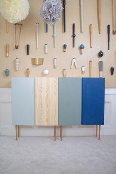 Prettypegs donne de la hauteur à vos meubles Ikea.