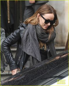Justin Theroux & Olivia Wilde Shop Together While Jennifer Aniston & Jason Sudeikis Prep for 'Horrible Bosses 2' Premiere